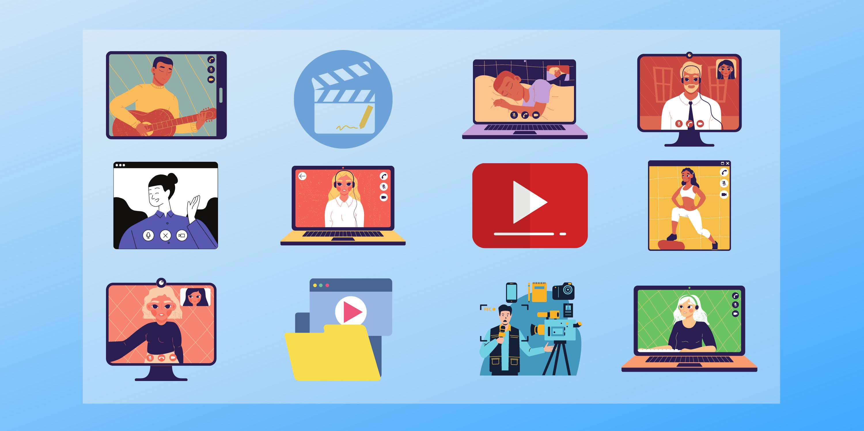 Самые популярные видеохостинги